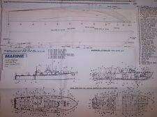 VOSPER MTB  u s built ship boat plans