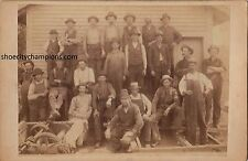 A.W. Howes & Co. Cabinet Photo-Occupational circa 1880s-Turner's Falls Mass-Rare