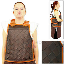 Woven Leather Norse Armor Viking Earl Battle Harness Cordura Cuirass Medieval