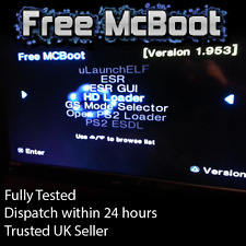 Free MCBoot 1.953 FMCB - Playstation 2 - 64MB Memory Card (ESR, HDL, OPL, MORE)
