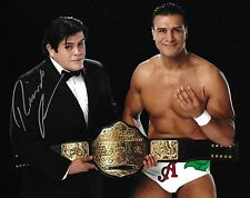 Ricardo Rodriguez Signed 8x10 Photo Alberto Del Rio WWE Belt Picture Autograph