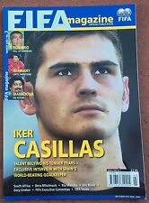 MARCH 2005 FIFA MAGAZINE  IKER CASILLAS ON COVER  SOCCER    FOOTBALL