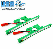 1 Pair 3D Printed Quadcopter LED Light Bar Kit for Racing Drones 12v (Green)