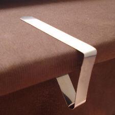 4 Edelstahl Tischdecke Abdeckung Klammern Inhaber Tuch Clamp Picknick Werkzeug