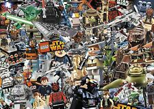 Lego Stickerbomb feuille-taille: 1m x 300 (star wars / lego city) full colour
