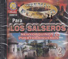 Tito Puente Cheo Feliciano Los Salseros Newyorquinos y Puertorriquenos 2CD New
