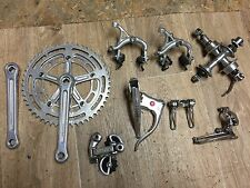 Complete Shimano Crane Dura-Ace Group Velo 70s Road Bike Rare