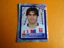 N°25 JUNINHO OLYMPIQUE LYONNAIS OL  PANINI FOOTBALL FOOT 2007 2006-2007
