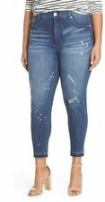 Seven 7 Melissa McCarthy Plus 26 28 Pencil Skinny Jeans Pants Lane Bryant NEW