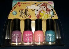 Orly Colorblast Disney Belle Nail Polish Mini Kit *NEW*