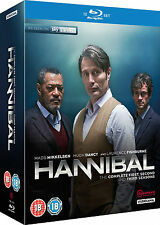 HANNIBAL Complete Season Series 1 2 & 3 Collection Boxset NEW BLU-RAY