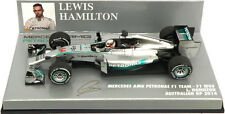 Minichamps Mercedes W05 Australian GP 2014 - Lewis Hamilton World Champion 1/43