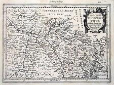 BELGIUM, LIEGE, MERCATOR, Cloppenburg, original antique map c1630