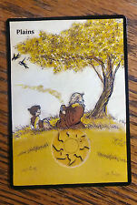 MTG Magic the Gathering altered art Avatar the Last Airbender Uncle Iroh Plains