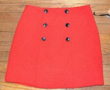 Elle Connection Textured Beauty  Salsa Red Skirt