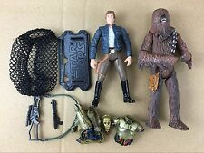 New Star Wars LEGACY Han Solo & Chewbacca & C-3PO Action Figures Movie GIFT S447