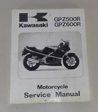 Werkstatthandbuch / Workshop Manual Kawasaki GPZ 500 R / GPZ 600 R, Stand 1998