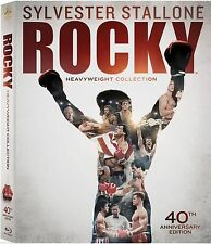 Rocky: Heavyweight Collection (Blu-ray Disc, 2014, 6-Disc Set) BRAND NEW