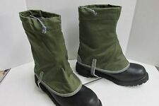 VINTAGE NORWEGIAN MOUNTAIN TROOP BOOT LEG GAITERS NOS