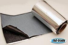 1m² Dämmmatte 2mm ALUBUTYL Schall Isolierung selbstklebend thermisch/akustisch