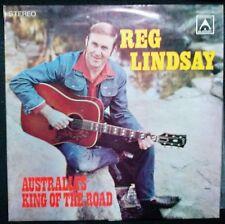 REG LINDSAY - AUSTRALIA'S KING OF THE ROAD VINYL LP AUSTRALIA