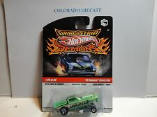 Hot Wheels Drag Strip Demons Green Gangreen '70 Camaro Funny Car