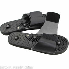 NEW Acupressure Massage Slipper Shoes Sandal Electrical Stimulator Foot Massager