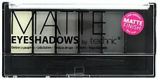 Technic Eyeshadow Pallette, Matte - Shades White, Silver, Grey, Black,Applicator