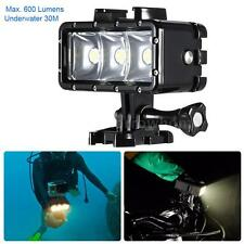 Waterproof LED Video Light Diving Accessories Lights for Gopro Hero SJ4000 A0K0