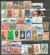 Danmark 121 All Different Nice Stamps