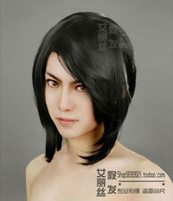 Kuchiki Rukia Cosplay Wig Fashion Black Short Straight Party Synthetic Hiar