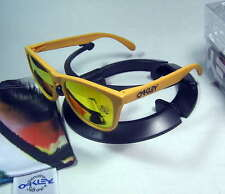 Oakley FROGSKINS Limited Edition Pike's Gold w/Fire Iridium 24-343 NIB