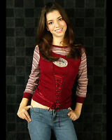 MASIELA LUSHA 8X10 PHOTO PICTURE PIC HOT SEXY BEAUTIFUL YOUNG 17
