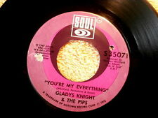 GLADYS KNIGHT~YOU'RE MY EVERYTHING~VG++~YOU NEED LOVE LIKE I DO~SOUL ~ SOUL 45