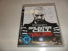 PlayStation 3  PS 3  Tom Clancy's Splinter Cell: Double Agent