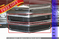 GTG 1972 Chevy Impala 2PC Polished Replacement Billet Grille Grill Kit