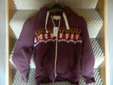 Hoodie, River Island, new with tags, size m ,dark red