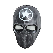 PC Lens Eye Mask Paintball Airsoft Full Face Protection Skull Mask Prop M07828