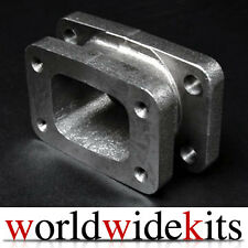 T3 TO T4 CONVERSION TURBO CAST ADAPTOR FLANGE MANIFOLD EXHAUST T3/T4E