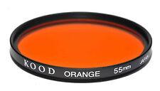 Kood Filtro Naranja fabricado en Japón 55mm