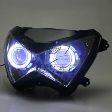 Headlight Assembly Dual Angel Eyes for Kawasaki Z800 Z250 2013-2015 Z300 2016