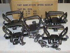 5 Bridger # 2 coilspring 2 Coil Spring Foothold Traps Coyote Fox Trapping
