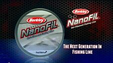 Berkley Nanofil 6 lb 150 yards, Clear Mist,  NEW