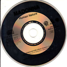 CD SINGLE promo MADONNA human nature 1-TRACK GERMANY RARE 1995