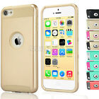 PC Shockproof Hybrid Rugged Rubber Matte Hard Case Cover iPod Touch 5th 6th Gen