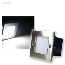 5x LED Appliques murales encastrées Extérieur/Intérieur,blanc froid,Inox