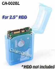 2.5 Inch HDD Protective Storage Box for IDE/SATA Blue