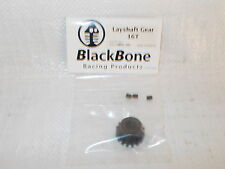 BLACKBONE 16T OR 17T LAYSHAFT GEARS  FOR CARSON SMARTECH  FG  HOBBYPRO