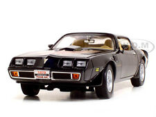 1979 PONTIAC FIREBIRD TRANS AM BLACK 1:18 DIECAST CAR BY ROAD SIGNATURE 92378