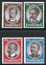 GERMANY REICH SCOTT# 432-5 MI# 540-3 MINT NEVER HINGED AS SHOWN